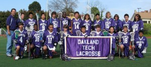JV Boys Lacrosse Team 2010