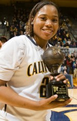 Cal women's basketball wins the WNIT Championship by defeating Miami, 73-61, at Haas Pavilion in Berkeley, Calif. on Saturday, April 3, 2010.