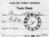 1923 A_actual tardy slip showing time of tardiness in the stamp.jpg
