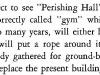 1928 B_gym Pershing Hall called Perishing Hall.jpg