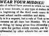 1929 B_encouragement to wear middies_Scribe.jpg