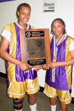Alexis Gray-Lawson and Devanei Hampton