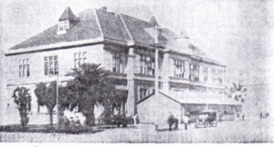 Tech High's ancestor at 12th and Market Streets, 1896-1915