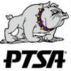 PTSA bulldog logo