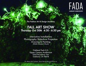 FADA Fall Art Show, October 30, 2014