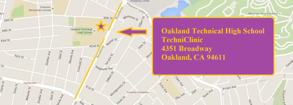 Oak Tech Map