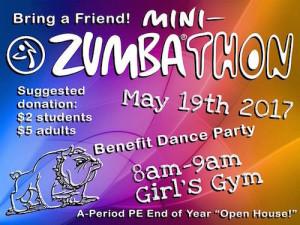 A-Period PE Open House & Mini-Zumbathon @ Girls Gym