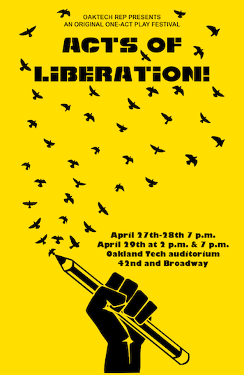 Acts of Liberation poster