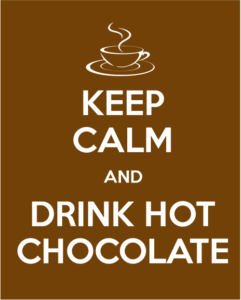 Hot Chocolate Fundraiser @ Tech Lobby in front of Library