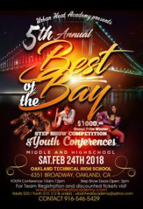 5th Annual 2018 Best of the Bay Step Show & Youth Conference