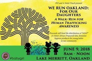 We Run Oakland: For Our Daughters @ Lake Merritt at Lakeside Park Pergola