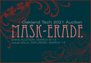Oakland Tech PTSA Online Auction Open for Bidding (Closes 5pm on March 13)