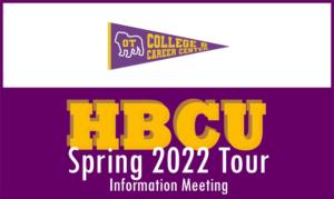 HBCU Tour Informational Meeting via Zoom