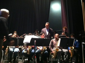 Jesse Jackso visiting Music Program