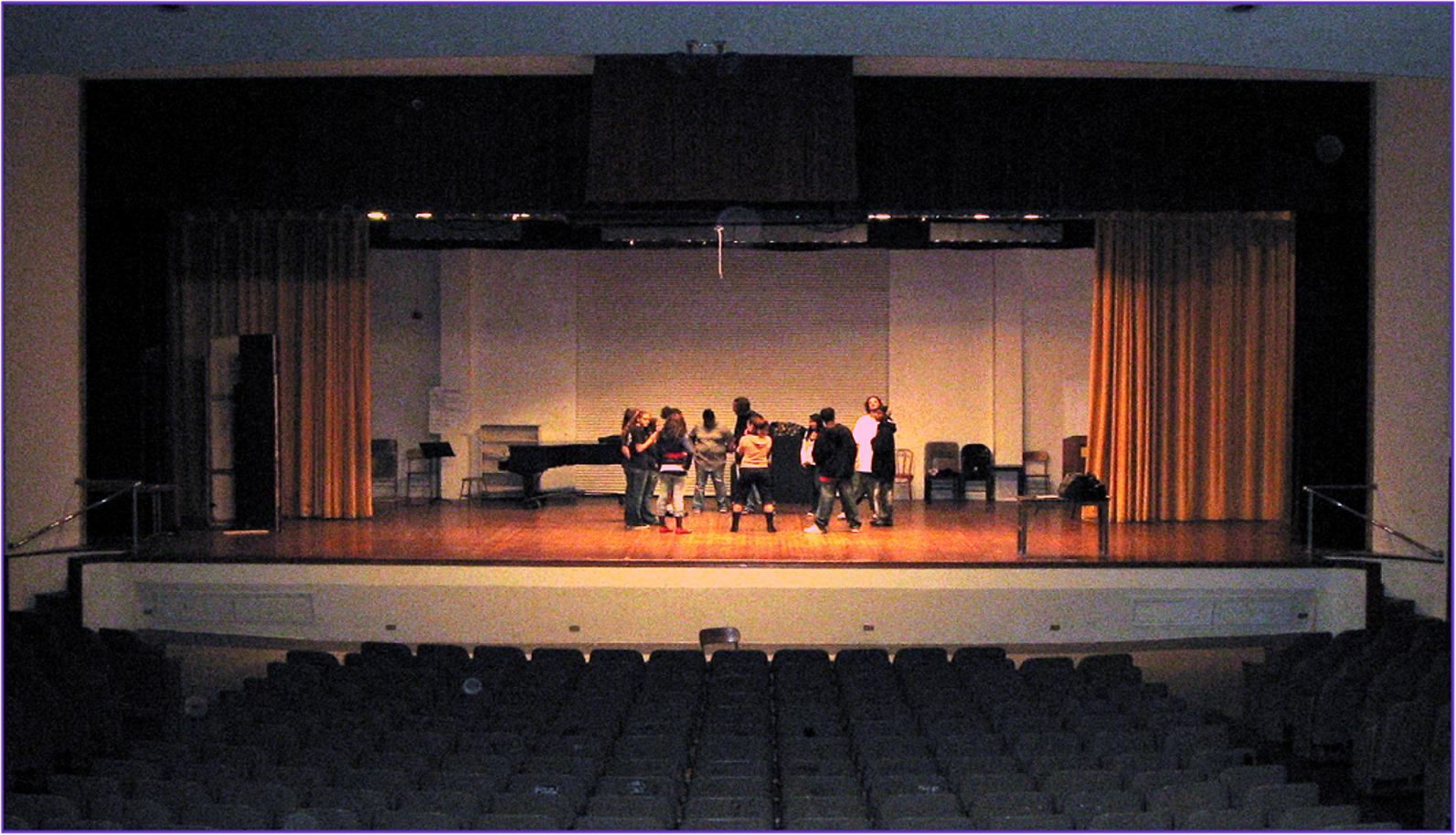 Auditorium Work Day
