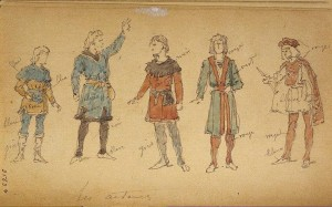 Sketch-of-Characters-and-Actors-in-Theatrical-Costumes-for-Shakespeare-s-Tragedy-of-Hamlet-Translated-by-Grand-Duke-Konstantin-Konstantinovich
