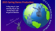 The Oakland Tech Dance Department Presents:  It's a Mad Mad Mad Mad World, a spring dance concert from May 15th through 17th in the Oakland Tech Auditorium.