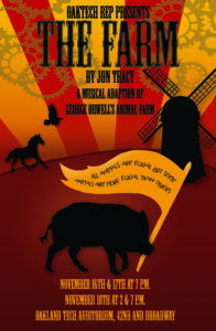 """OakTech Rep Proudly Presents """"THE FARM"""" by Jon Tracy @ Tech Auditorium (off 42nd Street)"""