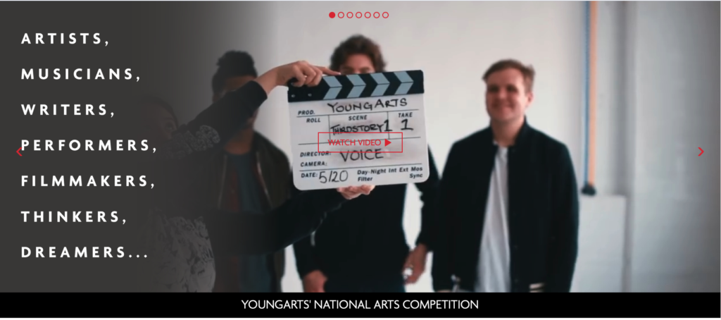 Opportunities - YoungArts applications are open