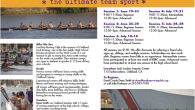 Summer Rowing Camps are now available for sign-up. Come on out and see what it is all about!